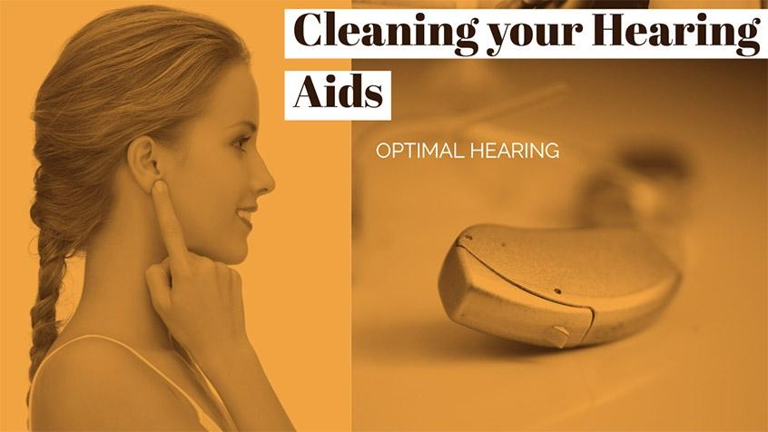 Cleaning and Maintaining Hearing Aids