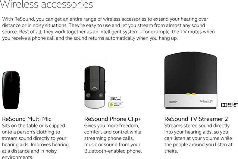 ReSound Wireless Accessories